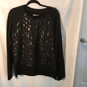 NWT Marc New York ladies size XL black sweatshirt